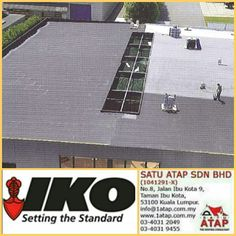 Iko pantera top layer can be applied in a single or multi - layer system.  Benefits: *Flexible at low temperatures *Nice, aesthetic black finish *Excellent bonding and rapid installation.  ☎03 4031 2049/9455 📲whatsapp at 019 656 0961 💻www.1atap.com.my