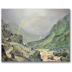 Trademark Fine Art The Seal Of The Covenant Canvas Wall Art by John Atkinson Grimshaw, Size: 35 x 47, Multicolor