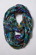 Folk Art Flora Infinity Scarf - Anthropologie.com