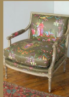 Hazelton House chinoiserie fabric