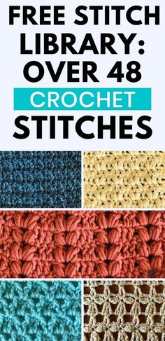 Different Crochet Stitches, Crochet Stitches For Blankets, Crochet Stitches Free, Crochet Stitches For Beginners, Knitting Stitches, Crochet Shell Stitch, Beginner Crochet Blankets, Crochet Stitch Tutorial, Easy Crochet Afghan Patterns