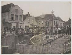 Brug tussen Noordhaven en Zuidhaven ter hoogte van de Markt in Zevenbergen