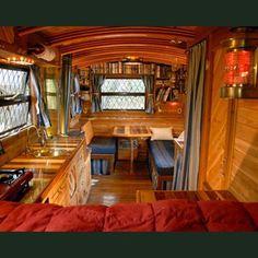 Retro Camper Interior Ideas 19