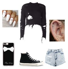 """""""chill bill"""" by ed83350 on Polyvore featuring adidas Originals, Boohoo, Converse and Casetify"""