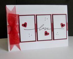 CC565 ~ love by sistersandie - Cards and Paper Crafts at Splitcoaststampers