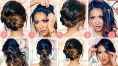 ★TOP 6 💗RUNNING-LATE ELEGANT HAIRSTYLES for WORK (2018) 💗 EASY UPDOS for...
