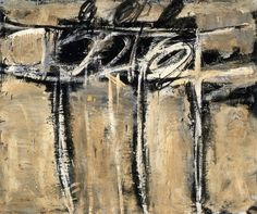 Cy Twombly  untitled  1951