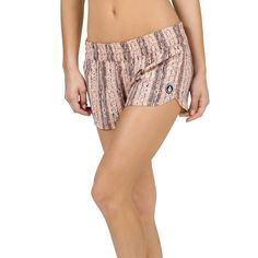 9a41d12739386 The perfect pull on beach short, the Wild Daze 3 inch style has a smocked  waistband and a notched dolphin style hem. Includes binding around leg  openings.
