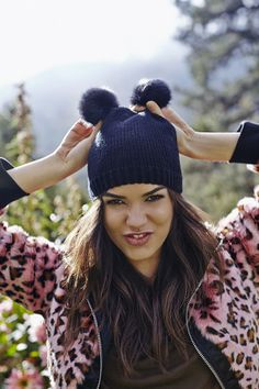 c4140f04fcf Brave the cold in the raddest new beanies. Leopard Fashion