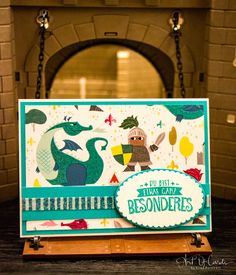 Grußkarte mit dem Set Zauberhafter Tag von Stampin Up #artofcards #stampin #up #zauberhafter #tag #grußkarte #diy