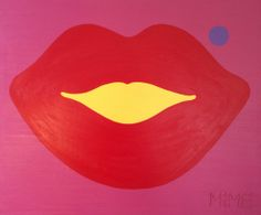 """Kiss"", Acrylic on Canvas, Painted by HELLO MiME!"