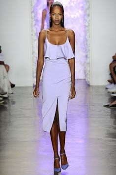 Cushnie et Ochs Spring 2016 Ready-to-Wear Fashion Show - Cindy Bruna