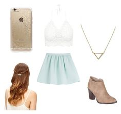 """""""Untitled #5"""" by transvergent on Polyvore featuring Tara Jarmon, Billini, Banana Republic and Rifle Paper Co"""
