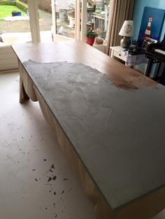 DIY Concrete Table | Pinterest | Cement, Concrete Coffee Table And Concrete