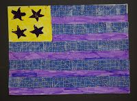 super happy art class: Jasper Johns, mixed media