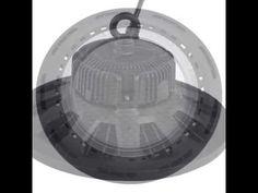 Saving more than 80% energy using 160W ufo led highbay light.