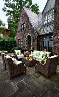 Addicted to the outdoors...  Make your front porch into something that no one can resist. #outdoorliving