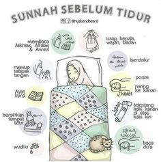 Sunnah sebelum tidu r Islamic Quotes Wallpaper, Islamic Love Quotes, Islamic Inspirational Quotes, Muslim Quotes, Hijrah Islam, Doa Islam, Reminder Quotes, Self Reminder, Moslem