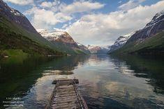 #lovatnet #norway #Loen #travel #blog #landscape #narure #norge #visit #lake #view #stryn #nordfjord Lake View, Norway, Landscapes, Mountains, Nature, Blog, Travel, Paisajes, Scenery