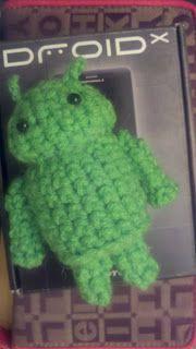 Roller Scrapper: Android Amigurumi