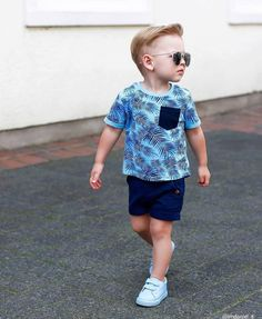 Trendy Boy Outfits, Cute Baby Boy Outfits, Boys Summer Outfits, Little Boy Outfits, Toddler Boy Outfits, Cute Outfits For Kids, Fashion Kids, Young Boys Fashion, Toddler Boy Fashion