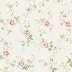 Flora tapeter (OV710-01) från Engelska Tapetmagasinet. Blommiga tapeter. ✓ Beställ fraktfritt online ✓ Snabb leverans