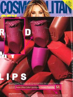 Looking for a luscious lip? Try our Ultra Color Lipstick in Dream Fuchsia, @Cosmopolitan is a fan too!