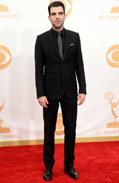Zachary Quinto in Givenchy