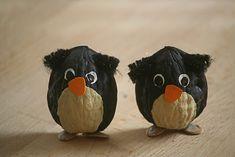 Walnut shell animals- lots of cute ideas!