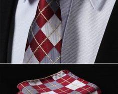 Luxusná pánska sada - viazanka s vreckovkou - vzor 03. Tie Clip, Fashion, Moda, Fashion Styles, Fashion Illustrations, Tie Pin