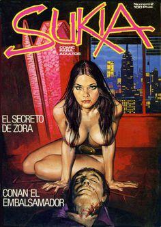 SUKIA Spanish #erotic art