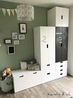 Kinderzimmer Junge Mint Schranksystem Deko Kinderzimmer Deko Ideen,  Kinderzimmer Einrichten, Kinderzimmer Schulkind, Kleines