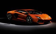 Lamborghini Aventador LP Supercar Rear HD desktop wallpaper
