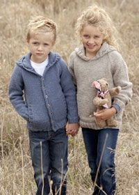 Free Knitting Pattern - Toddler & Children's Clothes: Aran Kid's Jumpers