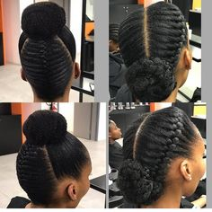 15 Creative and Gorgeous Natural Hair Updo Style Ideas Cornrows Natural Hair, Natural Hair Twists, Natural Hair Styles, Hair Twist Styles, Updo Styles, Short Hair Styles, Protective Hairstyles, Protective Styles, African Hairstyles