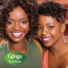 """""""Vingança é para os fracos. Derrota os teus inimigos com um sorriso!""""  Ginga – a marca da família angolana"""