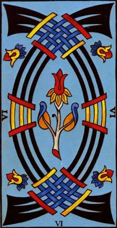 tarot 6 swords - Google Search