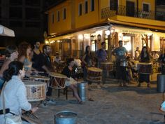 Earth Festival, happening at the Central Square of Vlasti, Kozani, Greece