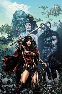 Wonder Woman DC Rebirth Issue 1 The DC Comics Rebirth: A Complete Guide For New Readers - Visit to grab an amazing super hero shirt now on sale! Wonder Woman Kunst, Wonder Woman Art, Wonder Woman Comic, Wonder Women, Arte Dc Comics, Gotham Comics, Comic Art, Comic Books Art, Batwoman