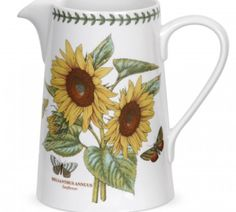 Win a Botanic Garden Sunflower Bella Jug by 9/2.