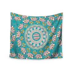 "Miranda Mol ""Luscious"" Blue Pink Wall Tapestry from KESS InHouse"