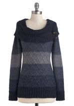 Jen's Tender Love and Wear Sweater in Blue