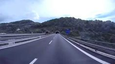 Go Pro Scenic drive from France to Italy (Cote D'Azur)