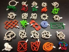Knots are embeddings of circles in 3-dimensional space, but they are typically studied in terms of their projections into 2-dimensional space. We can use 3D printing to study knots in a more 3-dimensional way.