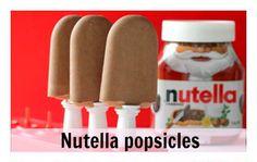 Receita de Picolé de Nutella