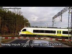 2016 01 26 GoPro Hero4 Impuls 36WE & Pafawag 201E & Newag 6Dg - YouTube