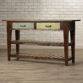 Found it at Wayfair - Herrick Console Table in Brown