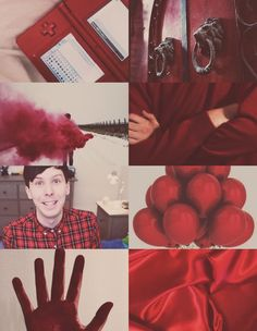Phil Lester Gryffindor House Aesthetic Board✘Edit is mine