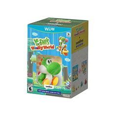 Yoshi's Woolly World Bundle  - Wii U Nintendo http://smile.amazon.com/dp/B01307QVCA/ref=cm_sw_r_pi_dp_CAkzwb0W4J5NW