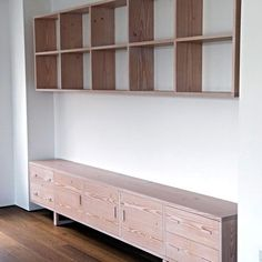 Contemporary sideboard / birch COLIN PARKER FURNITURE MAKERS & CARPENTERS